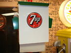 1940S -50S ERA 7-UP VINTAGE STYLE SODA FOUNTAIN BOOTH / COUNTER  TOWELBOX