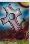 NIGHT OF THE LIVING DEAD sketch CARD Bianca Thompson