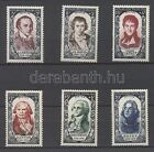 France stamp Red Cross:Famous people from the 18th century set MNH 1950 WS107253