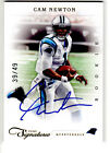 2011 Panini Prime Signatures Cam Newton RC Panthers GOLD on-card Auto WOW 39 49