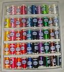 Marathon Embroidery Machine Thread Rayon Box Of 50 of the Most Popular Colours