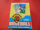 1990 UNOPENED BOWMAN BASEBALL CARDS BOX FROM CASE 36 PACKS SOSA THOMAS RC