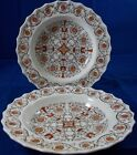 Spode SORRENTO 2 Rim Soup Bowls GREAT CONDITION 2/8374