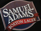 Sam Adams Tin Beer Sign pub bar Tacker samuel boston lager seasonal light adam