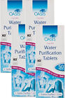 OASIS WATER PURIFICATION TABLETS 85mg 50s Multi Packs Available Bulk Buy