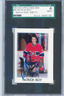 1987-88 O-PEE-CHEE MINIS - PATRICK ROY #36 AUTO JSA AUTHENTICATED & SLABBED!