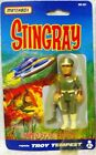 STINGRAY  TROY TEMPEST CARDED ACTION FIGURE MADE BY MATCHBOX IN 1993