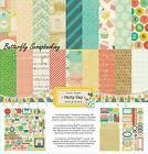 BIRTHDAY Party Day Collection 12X12 Scrapbooking Kit Crate Paper Crafts New