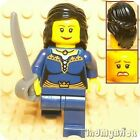 PM225 Lego Pirate / Castle Maiden Custom Minifigure with Dual Sided Faces DB NEW