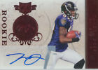2011 PLATES & PATCHES - TANDON DOSS #177 ROOKIE 150