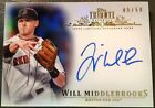 Will Middlebrooks 5 50 2013 Topps Tribute On Card Auto Autograph Boston Red Sox