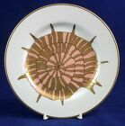 Fitz & Floyd COQUILLE D'OR Salad Plate Nautilus Motif GREAT CONDITION