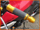GOLD Quality Aluminium Hand Grips / Bar Ends fits Honda CD 125 T Benly 175