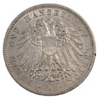 [#52209] GERMAN STATES, 3 Mark, 1911, Berlin, KM #215, AU(55-58), Silver, 33