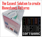 Rhinestone Strass Template making software cut with Silhouette Cameo Craftrobo