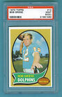 1970 Topps Football #10 Bob Griese (Dolphins) PSA 9 Mint (OC)