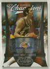 Jerry West 2009-10 Panini Certified Champions Auto #'d 2 35 - LA LAKERS - #8