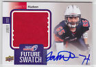 2011-12 Upper Deck USA Football Future Swatch Autographs FS32 Jarrett Hudson 2 5