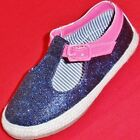 NEW Girls Toddlers CARTERS LES Blue Pink Sparkle Fashion Casual Shoes