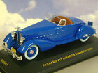 SUPERB IXO 1/43 MUSEUM SERIES PACKARD V12 LEBARON SPEEDSTER 1934 IN BLUE MUS043