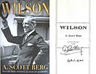 A Scott Berg SIGNED  DATED Wilson 1st 1st+Photos Pulitzer Winner Lindbergh