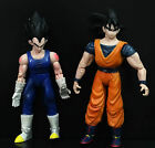 LOT 2 1989 Giochi Preziosi DragonBall Z DBZ ACTION FIGURES GOKU VETETA DV3