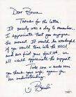 BRANDI CHASTAIN SIGNED PERSONAL LETTER USA SOCCER JSA AUTHENTICATED E82435