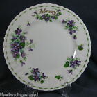 Royal Albert Flower Of Month February Violets Salad Plate Newer-Montrose