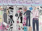 6 Packages of Forever in Time 3D Scrapbooking Stickers Diva Girl Highly Detailed