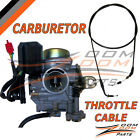 20mm Carburetor Throttle Cable GY6 50 50cc Scooter Moped Carb Roketa Sunl