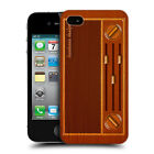 HEAD CASE VINTAGE RADIO WOODEN GADGET HARD BACK CASE COVER FOR APPLE iPHONE 4 4S