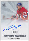 Rookie Collector's Guide to 2011-12 SP Authentic Hockey Future Watch Autographs 67