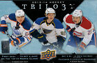 HOBBY BOX 2013 14 UPPER DECK TRILOGY HOCKEY 9 HITS PER W 5 AUTOS