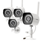 ® 4CH NVR 720P HD Network Outdoor PoE CCTV Home Security Camera System