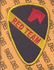 1st Cavalry Division RED TEAM Artillery patch