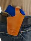 NEW Barsony Tan Leather OWB Belt Loop Holster Kimber Ruger Small 380 Ultra Comp