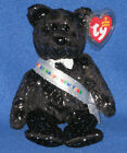 TY 2007 the NEW YEAR BEAR BEANIE BABY - TY EXCLUSIVE - MINT with MINT TAGS