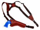 NEW Barsony Burgundy Leather Vertical Gun Shoulder Holster Taurus 6 Revolvers