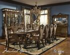 The Sovereign Traditional Luxury 7 Piece Formal Dining Room Furniture Set AICO