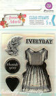 Anna Marie 2 Clear Unmounted Rubber Stamp PRIMA MARKETING INC 570088