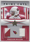 2006 Leaf Rookies and Stars Prime Cuts Combos #12 Anquan Boldin 15 25