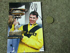 Richard JOHNSON Horse Racing Jockey with TROPHY Original Hand SIGNED Photo