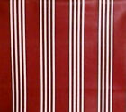LONGABERGER RARE RETIRED RED BERRY STRIPE FABRIC-NEW-SHOP OUR STORE