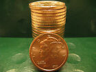 Mercury Dime 1oz .999 Copper 20 beautiful rounds 1 Roll in Plastic Tube