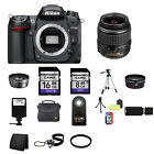 Nikon D7000 Digital SLR Camera w 18 55mm Lens 24GB Complete Kit