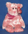 TY SMITTEN the PINK NOSE BEAR BEANIE BABY - MINT with MINT TAGS