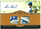 ANDRE ETHIER 2011 TOPPS MARQUEE AUTO AUTOGRAPH JERSEY PATCH DODGERS #1 1 NASTY