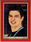 SIDNEY CROSBY , 2005-06 , UPPER DECK , BEEHIVE , RED , CARD #101 , ROOKIE