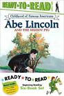 NEW Childhood of Famous Americans Ready To Read Value Pack Abe Lincoln and the
