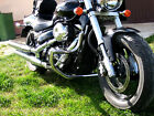 (SP) SUZUKI M800 INTRUDER ENGINE GUARD,CRASH BAR WITH BUILT IN FOOT PEGS